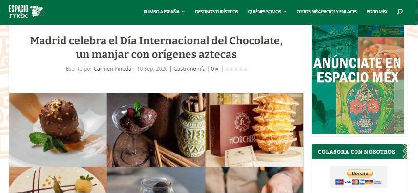 ¡Feliz día del chocolate! | Espacio Mex