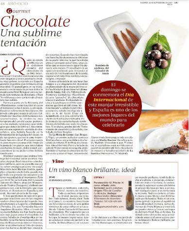 ABC | Día del Chocolate. Una delicia.
