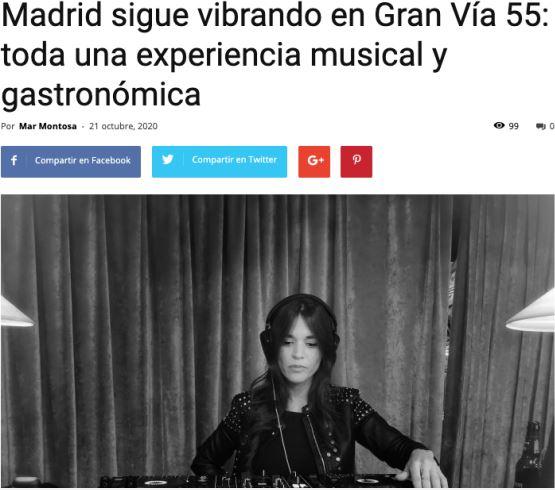 Madrid sigue vibrando según Fusión radio