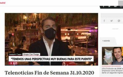 Entrevista a Joaquin Capel en TeleMadrid
