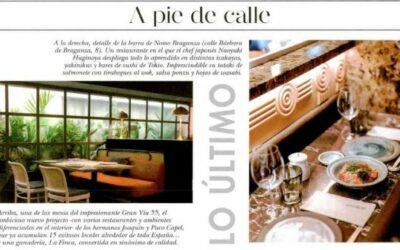 Ôven Mozzarella Bar en la revista Hola Living