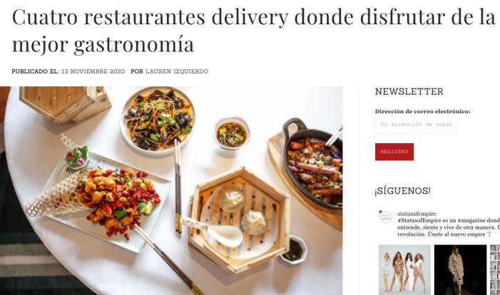 restaurantes delivery