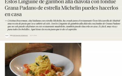 Elle: receta Grana Padano