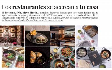Be and Life: restaurantes a domicilio en Madrid