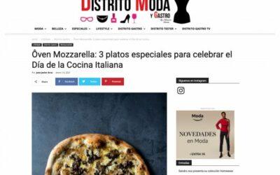 Distrito moda y gastro: Platos Ôven para celebrar el Día de la Cocina Italiana