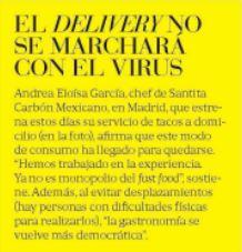 Delivery Santita – Buena Vida, El País