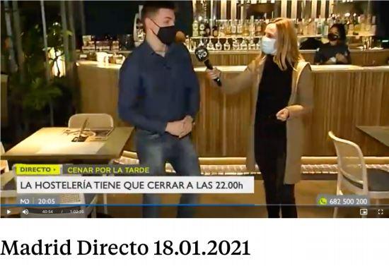 Cierre hosteleria: adelantan la hora | Madrid Directo