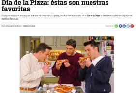 Celebra el día de las pizzas