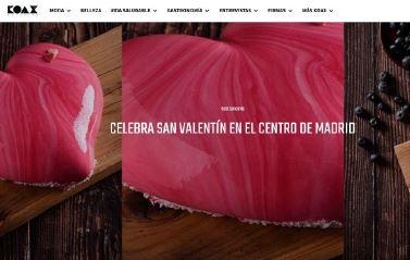 Celebra el Día de los Enamorados en el centro de la capital