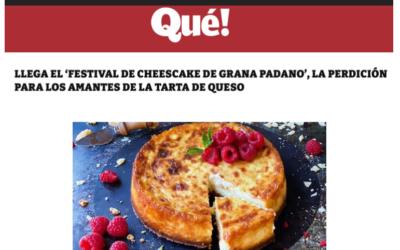 Festival de cheesecake de Grana Padano