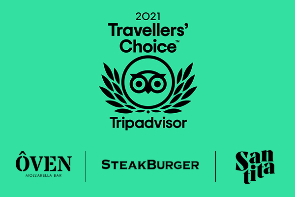 Premio TripAdvisor Travellers' Choice Top 10% mejores restaurantes del mundo: