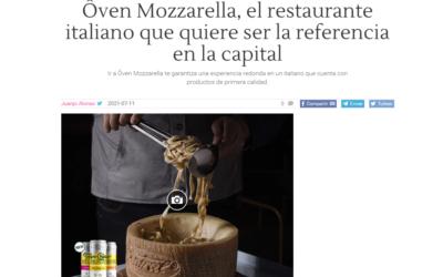 El restaurante italiano de referencia: Ôven Mozzarella Bar